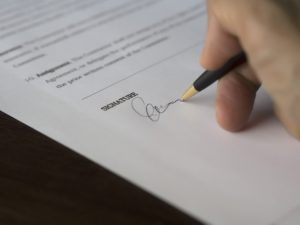 signing contract lewis-price and associates